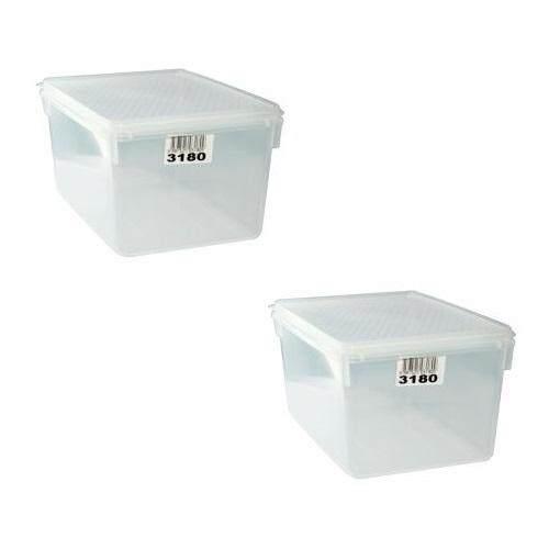 (LZ) 1.5 Lit Toyogo 31 series 80 Diamond Container Set of 2