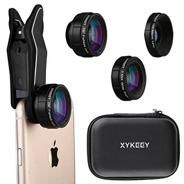 Lensa IPhone Kit Sudut Lebar Lensa Mata Ikan Lensa Makro Ponsel Kamera Penahan Lensa Kit Lampiran untuk iPhone 6 7 Plus Samsung Android Smartphone-Intl