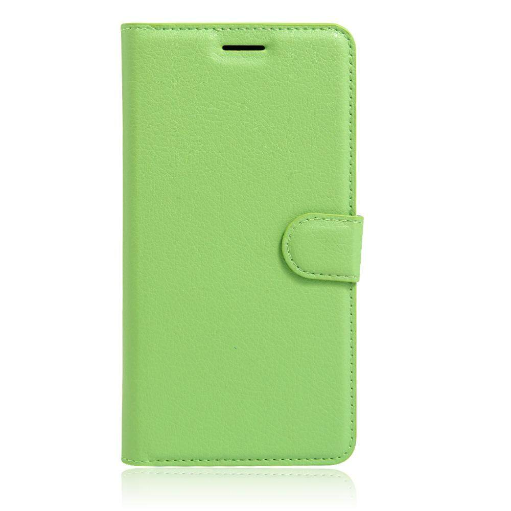 PU Leather Flip Cover Wallet Card Holder Case For Alcatel POP C1 / OT4015 - intl