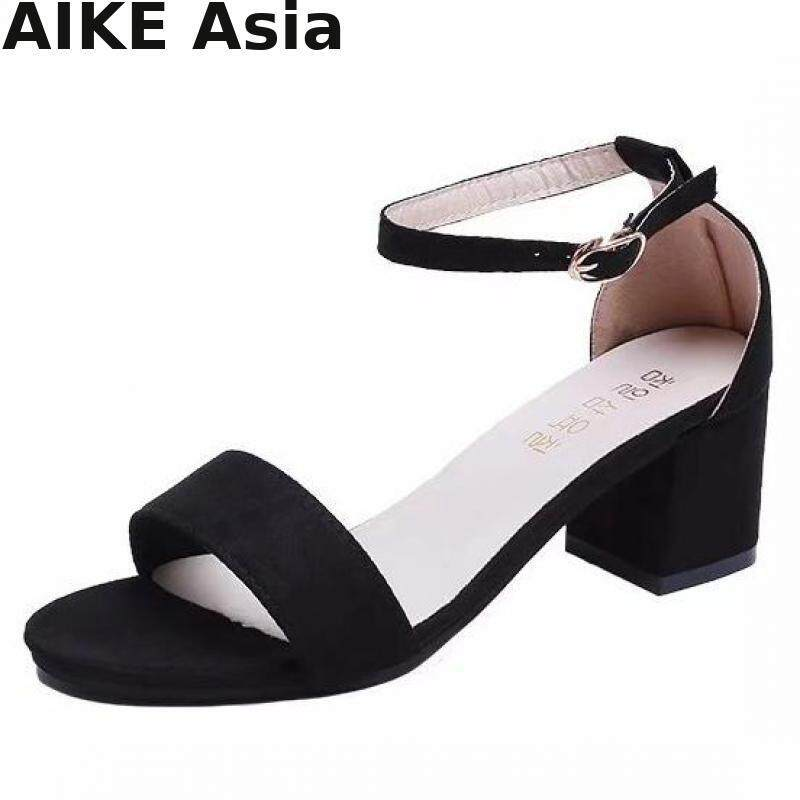 2018 Summer Women Shoes Pumps Dress Shoes High Heels Boat Shoes Wedding Shoes Tenis Feminino With Peep Toe Sandals F997