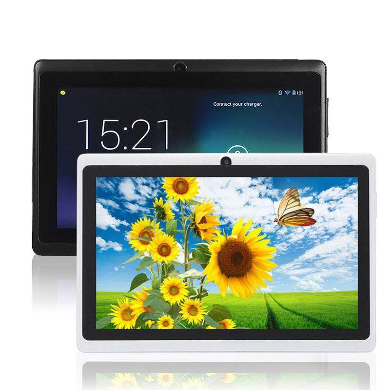Limited-Time Sale 7 Quad Core A33 Google Android 4.4 Dual Camera WiFi 8GB White Tablet PC Pad EU
