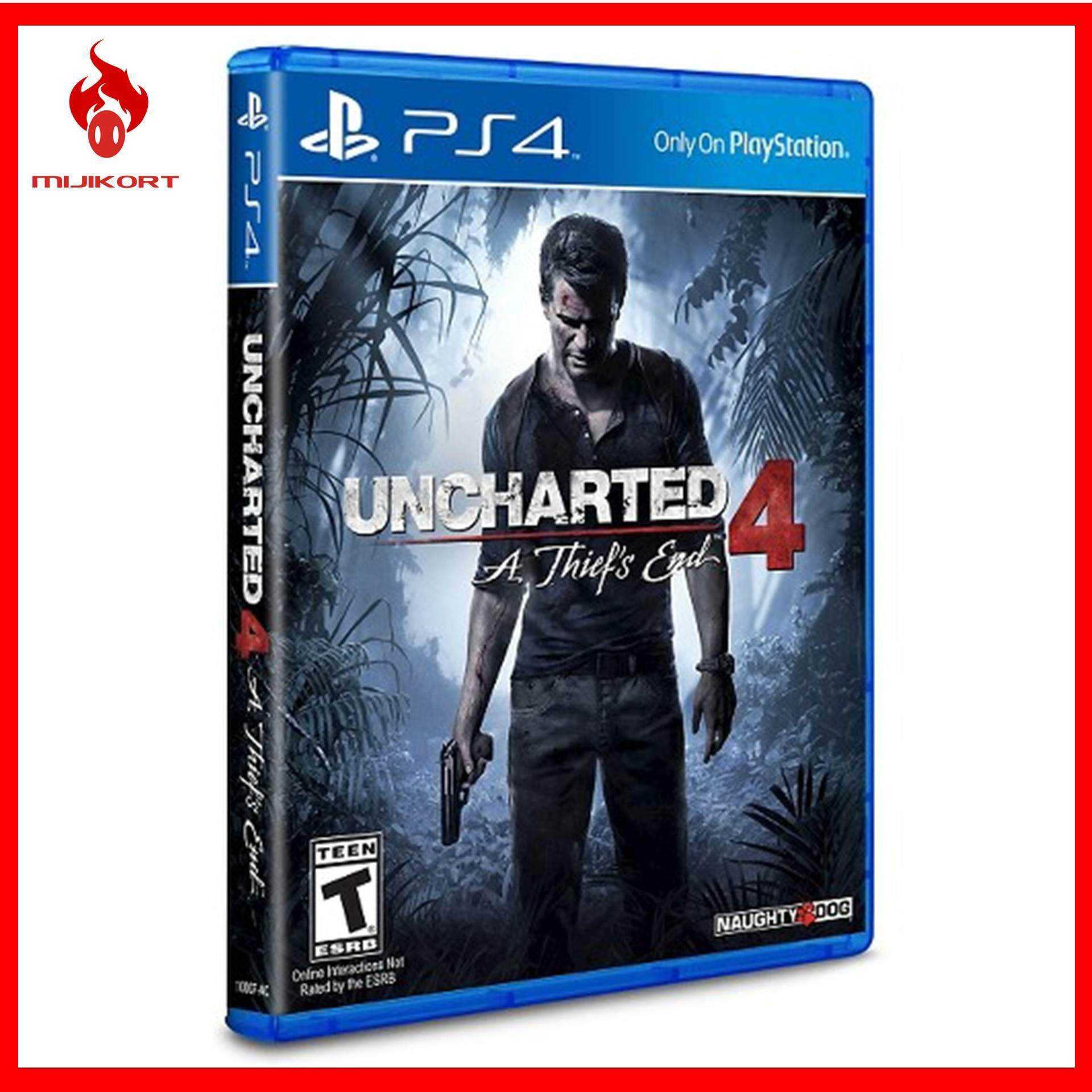 Sell Ps4 Uncharted The Cheapest Best Quality My Store Ps4uncharted 4 A Thief End Reg 3 All Myr 133