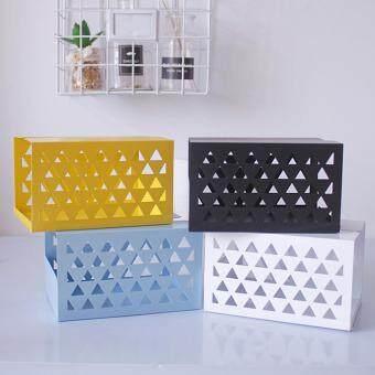 ขายช็อก BolehDeals Tissue Box Holder, Retangular Napkin Holder Paper Case Dispenser White L ซื้อเลย - มีเพียง ฿219.88