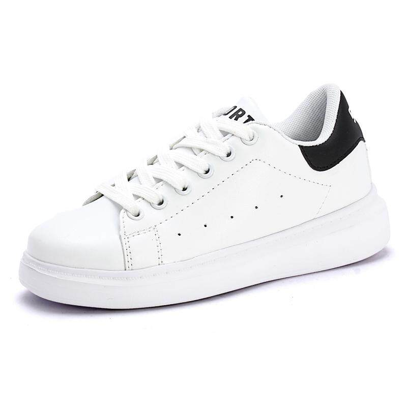 Hình ảnh Children Shoes Girls Boys Sport Shoes Antislip Soft Bottom Kids Baby Sneaker Casual Flat Sneakers white Shoes size 30-40