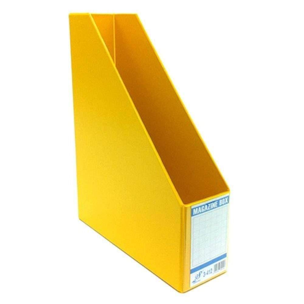 "East-File PVC Magazine Box Filing Case 3"" (Item No: B11-94 YL) A1R5B83"