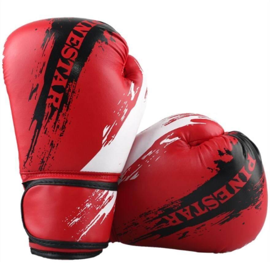 ... Suten 1 Pasang Pu Tinju Kick Boxing Berjuang Memaksakan Sarungtangan Source 9 Warna Anak Graffiti Sarung