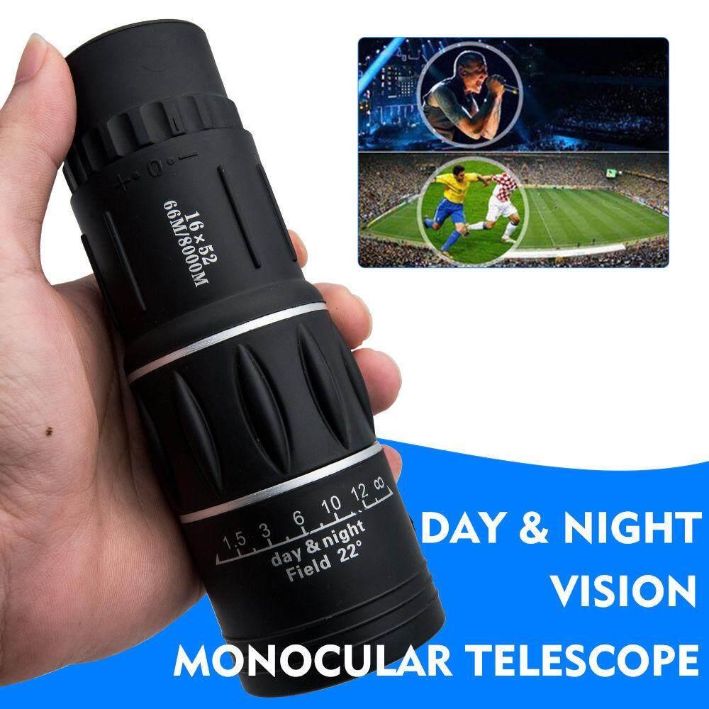 Buy Sell Cheapest 16x52 Monocular Telescope Best Quality Product Teropong Terbaru Teleskop Zoom Astronomi Tinggi Daya Dengan Malam Vision Bermata Satu Spotting Kamera