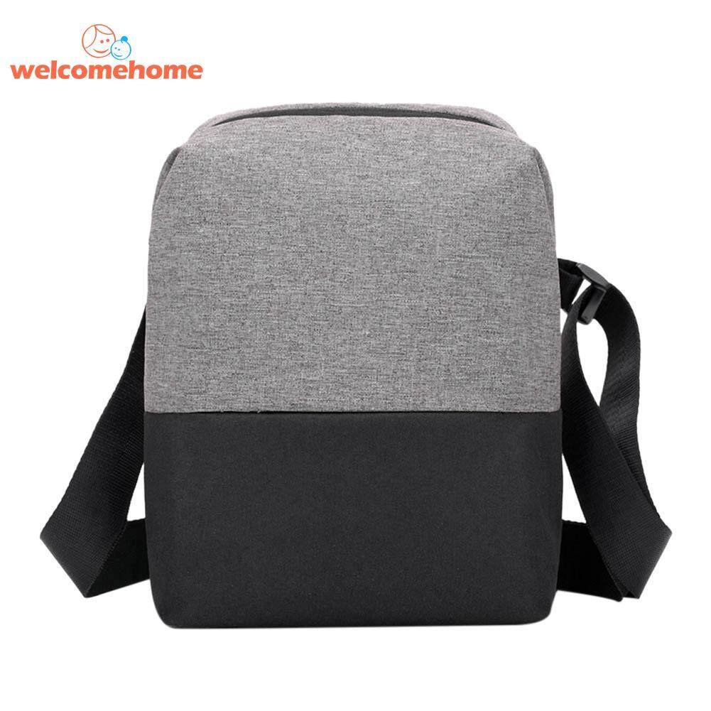 Men Fashion Messenger Handbags Waterproof Nylon Shoulder Business Casual Briefcase - intl