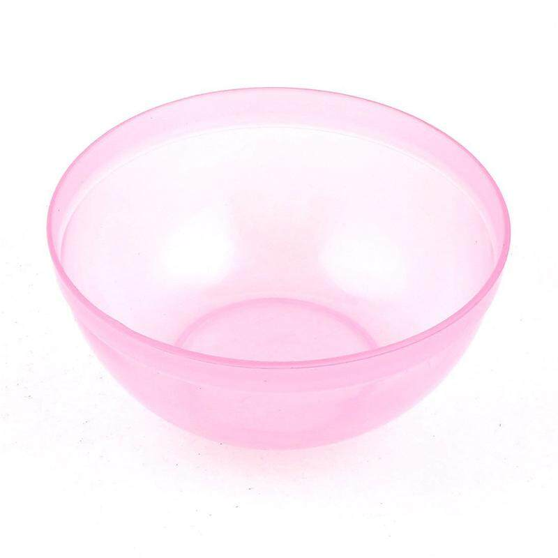 4.1 Inch Diameter Pink Plastic Cosmetic Face Mask Cup Mug Tool For Ladies By Tobbehere.