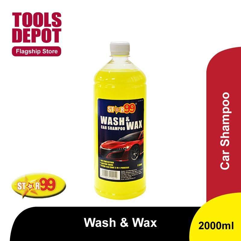 Star99 Wash & Wax Car Shampoo (1000ml)