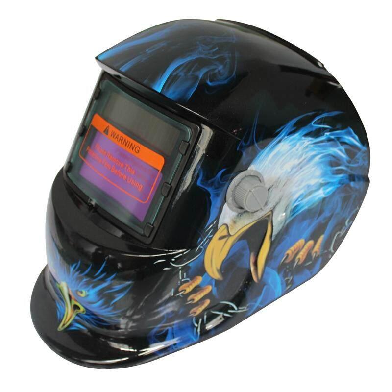 2018 Baru Pro Solar Masker Las Otomatis Gelap Helm Las Pola Kerucut Eagle-Intl
