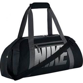 c6b5feebb759 ราคาดีที่สุด Nike Womens Gym Club Duffel Bag Black Dark Grey White ล่าสุด