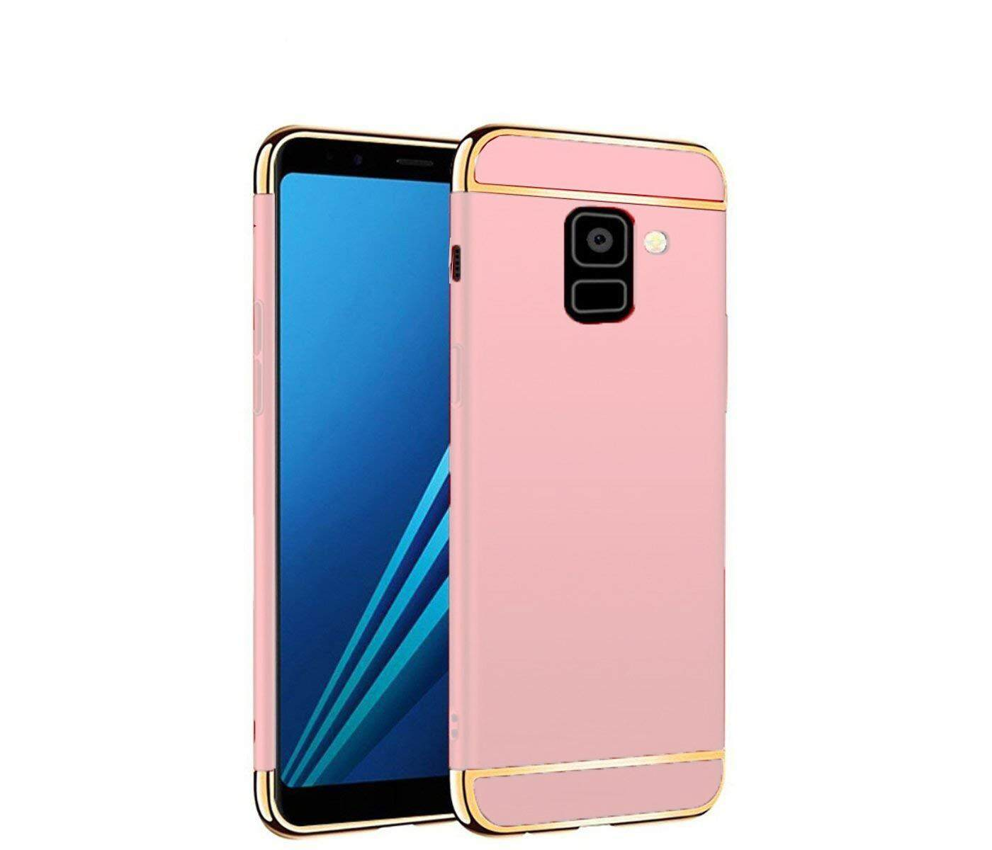 Features 3 In 1 Pc Hard Case Cover Casing For Samsung Galaxy A6 2018