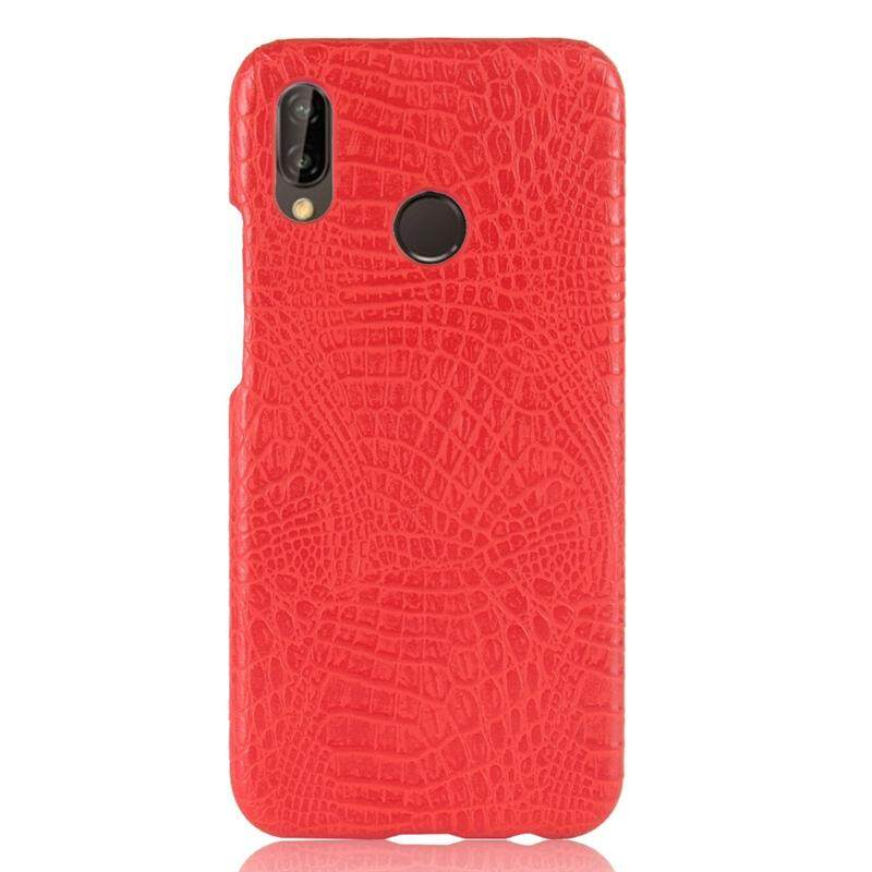 Moonmini untuk Huawei Honor Play Casing Belakang Ultra Ramping Cocok Buaya Pola Anti Gores Pelindung Telepon