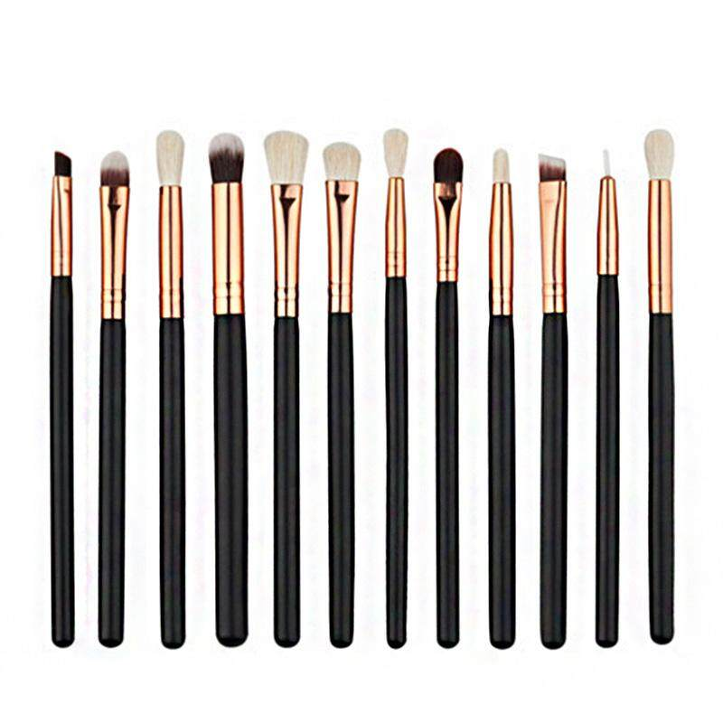 12 Pcs Makeup Brushes Blending Pencil Foundation Eye Shadow Cosmetic Brush - intl