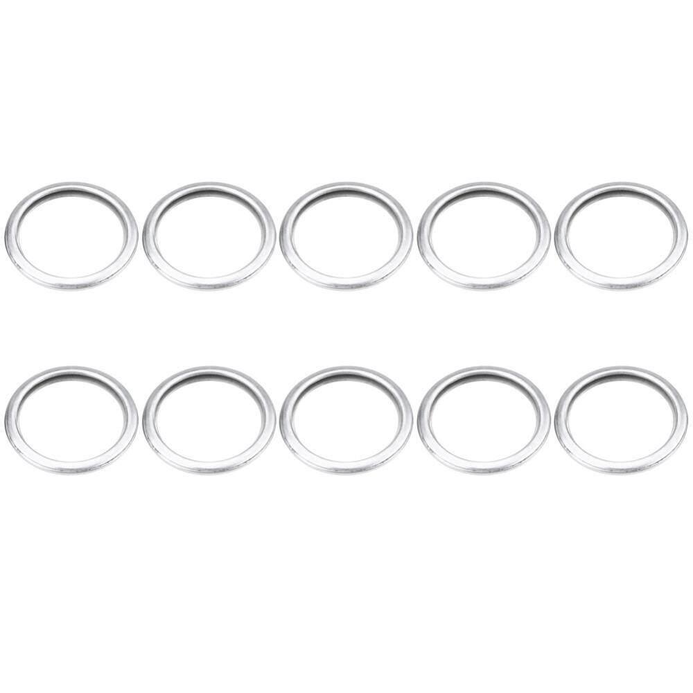 10pcs Oil Drain Plug Crush Washer Gasket Set For Subaru 1985-2018 11126aa000 - Intl By Duoqiao.