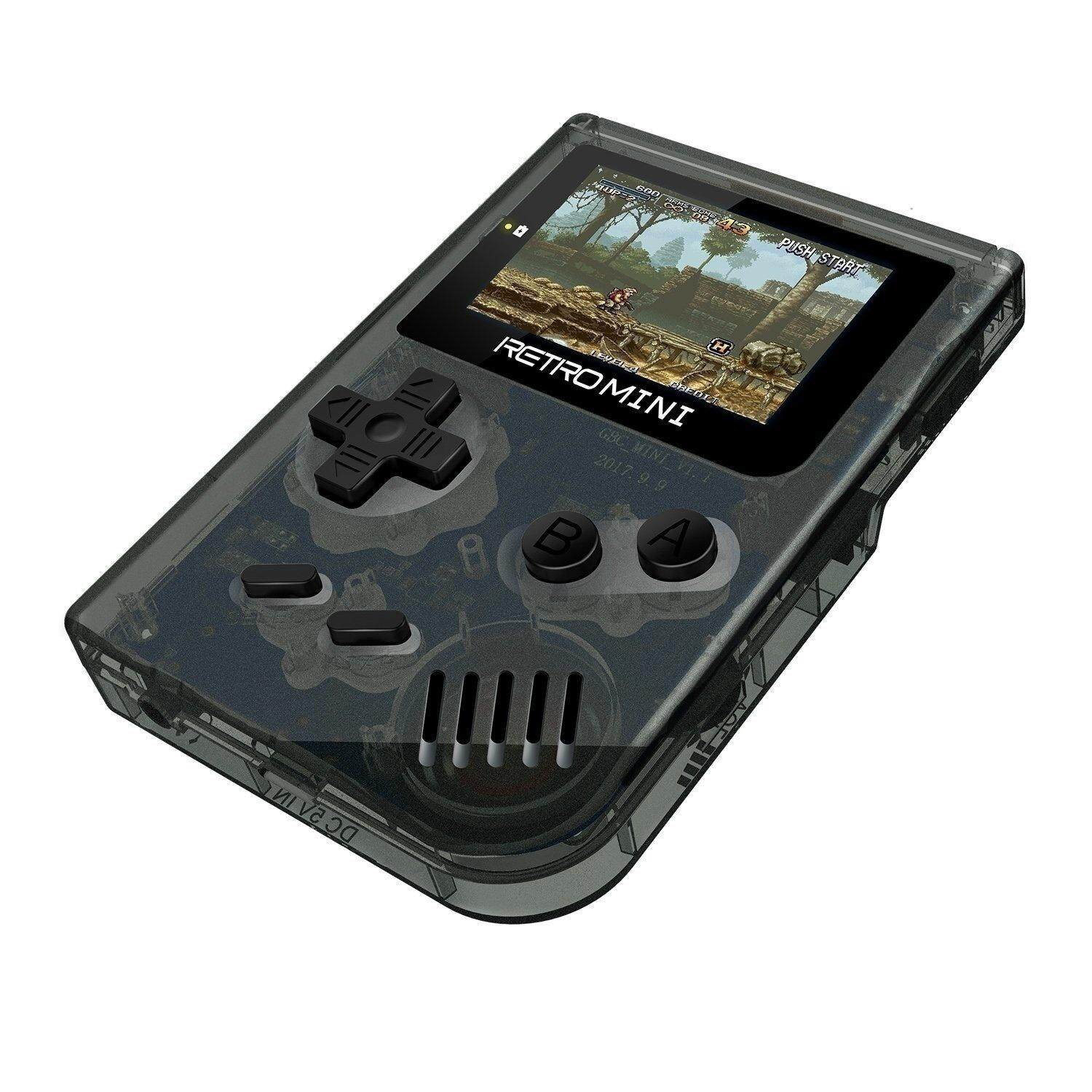 Retro Game Console 32 Bit Portable Mini Handheld Game Players Built-In 940 For Gba Classic Games Best Gift For Kids Black By Tobbehere.