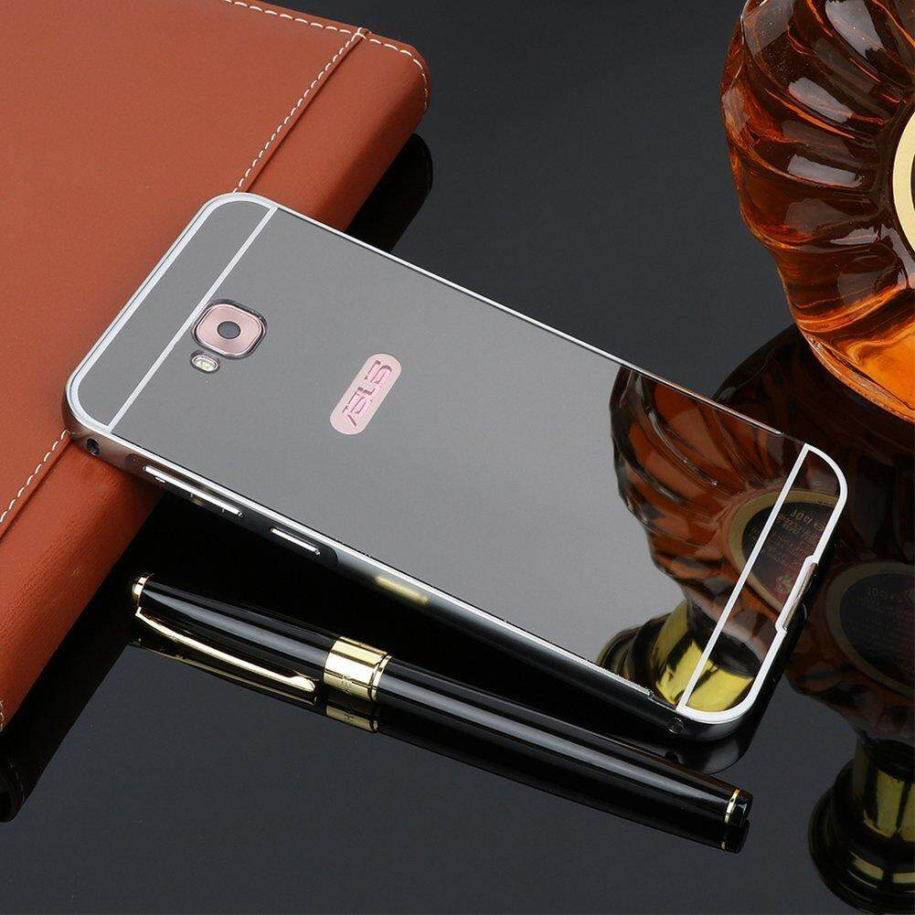 Features For Asus Zenfone 4 Selfie Zd553kl Metal Mirror Aluminum Alumunium Bumper Case 2 55 Detail Gambar Frame Back Hard Cover Terbaru