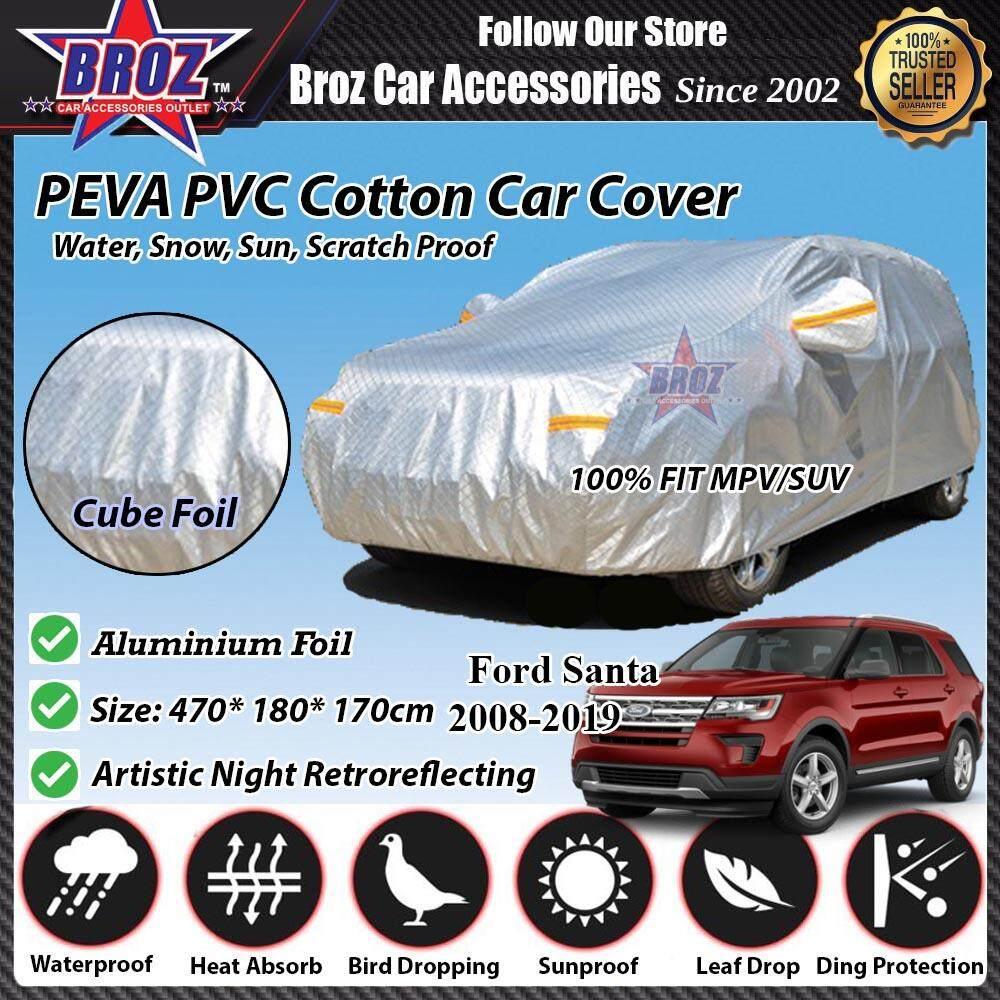 Ford Santa Car Body Cover PEVA PVC Cotton Aluminium Foil Double Layers - MPV