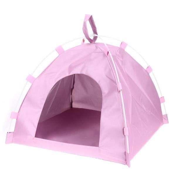 【companionship】(Giao hàng miễn phí cho cả ba chiếc đến Hà Nội)Waterproof Oxford Pets Dog Cat Playing Bed Portable Folding Mat Houses Tent