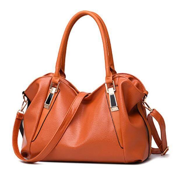 Unique2017 New Korean Fashion Ladies Classic Soft Leather Top-Handle Bags Womens Elegant Casual Handbags Outdoor Shoulder Messenger Bag - intl
