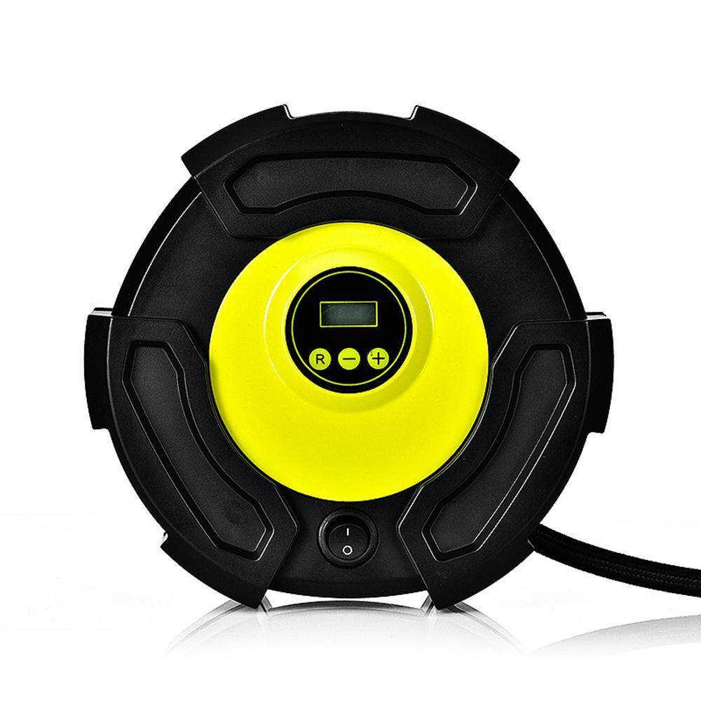 Aolvo Digital Tyre Inflator - Dc 12v 100psi Auto Portable Air Compressor Tire Pump Flat Tire Repair Tool For Car Bicycle Air Mattresses Balls Water Pool Toys Inflatables By Aolvo.