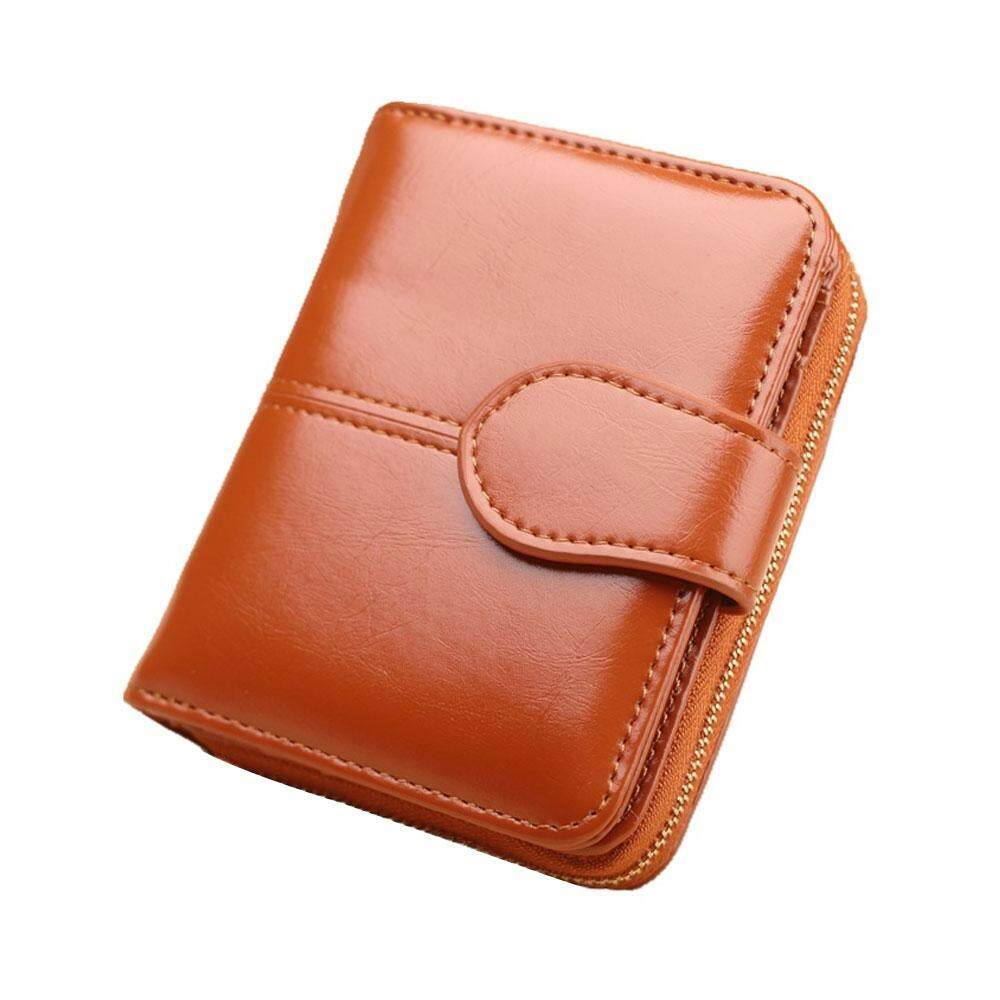 b8c2f3ee3c3 GoodGreat Coin Purse Female Student Wallet Oil Wax Leather Clutch Bag  Wholesale Oil Pickup Bag