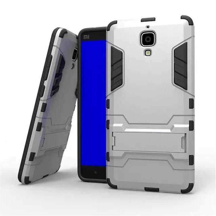 For xiaomi Mi 4 Case iron Man Armor Cover For xiaomi 4 full Protection Phone housing