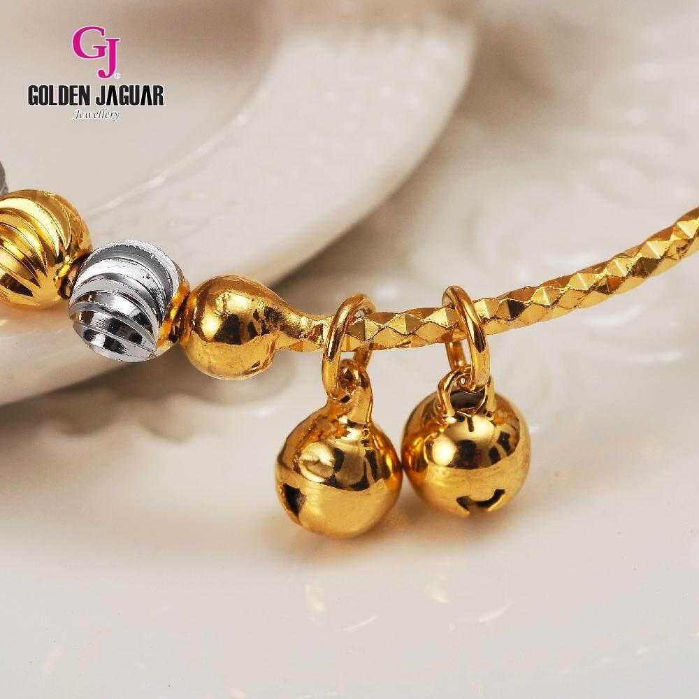Emas Korea Golden Jaguar Bangle (GJJ-59873)