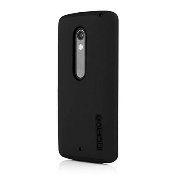 Cell Phones Cases Incipio DualPro Carrying Case for Motorola Droid MAXX 2/Motorola Moto X Play - Retail Packaging - Black - intl