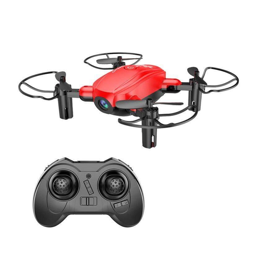 D10WHD bergaya Drone WiFi Qua * dcopter Drone Remote Control 0.3MP HD kamera