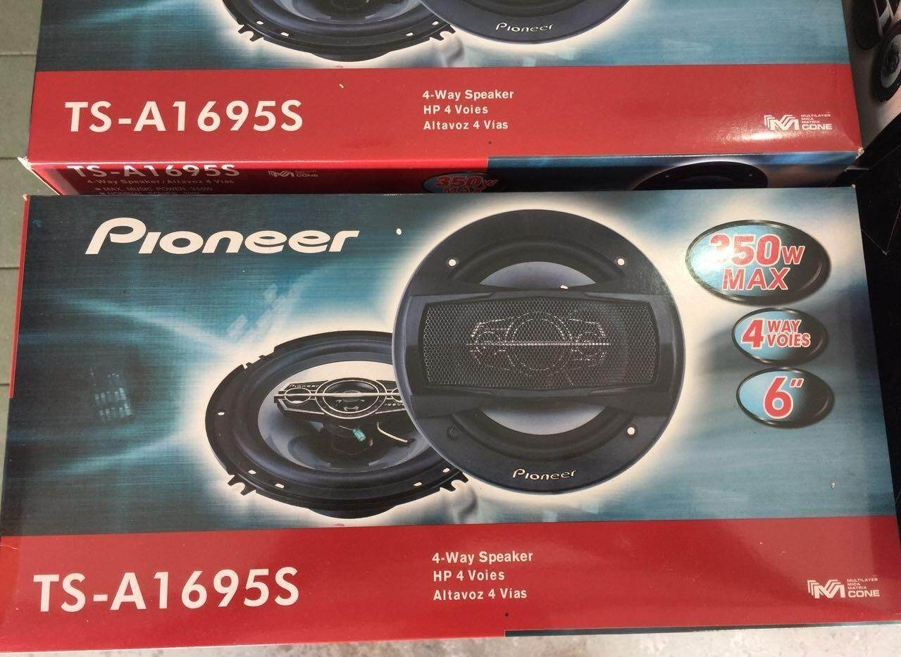 Fitur Pioneer Ts F1634r Speaker Coaxial Mobil 2 Way F1634 R 2way 4 A1695s 6 Inch