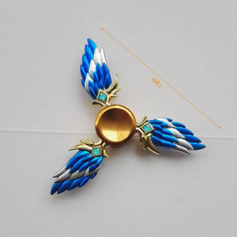 Hình ảnh Grand Store Spinner Wings Genji Hand Spinner Fidget Finger ADHD Autism Kids/Adults Toy Gift
