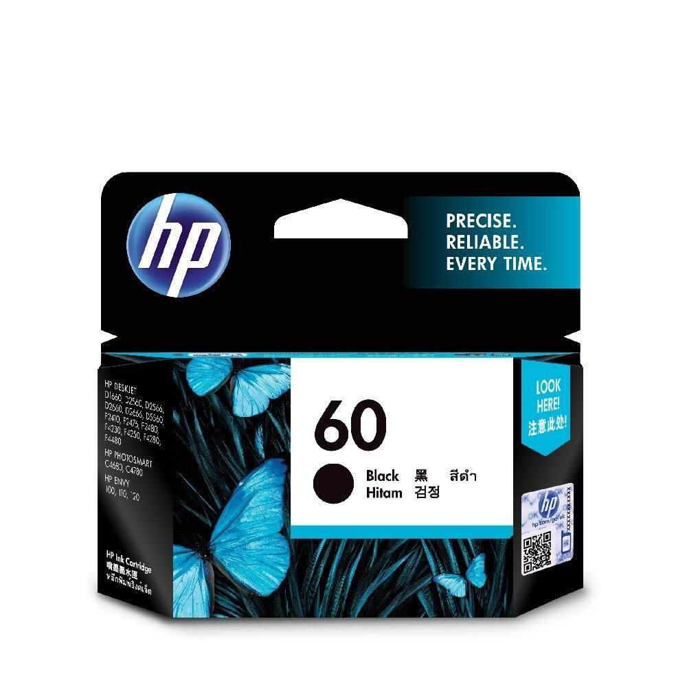 HP 60 Black Original Ink Cartridge CC640WA