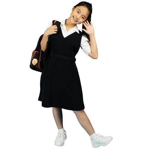 MATARI PRIMARY SCHOOL WHITE SHIRT SHORT SLEEVE (GIRLS) - WRINKLE-FREE