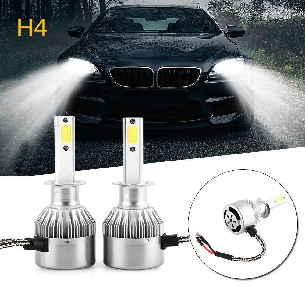 Obral Cuci Gudang C9 55 W 4600lm COB Headlight Lampu Mobil LED DRL Bohlam Lampu Kabut
