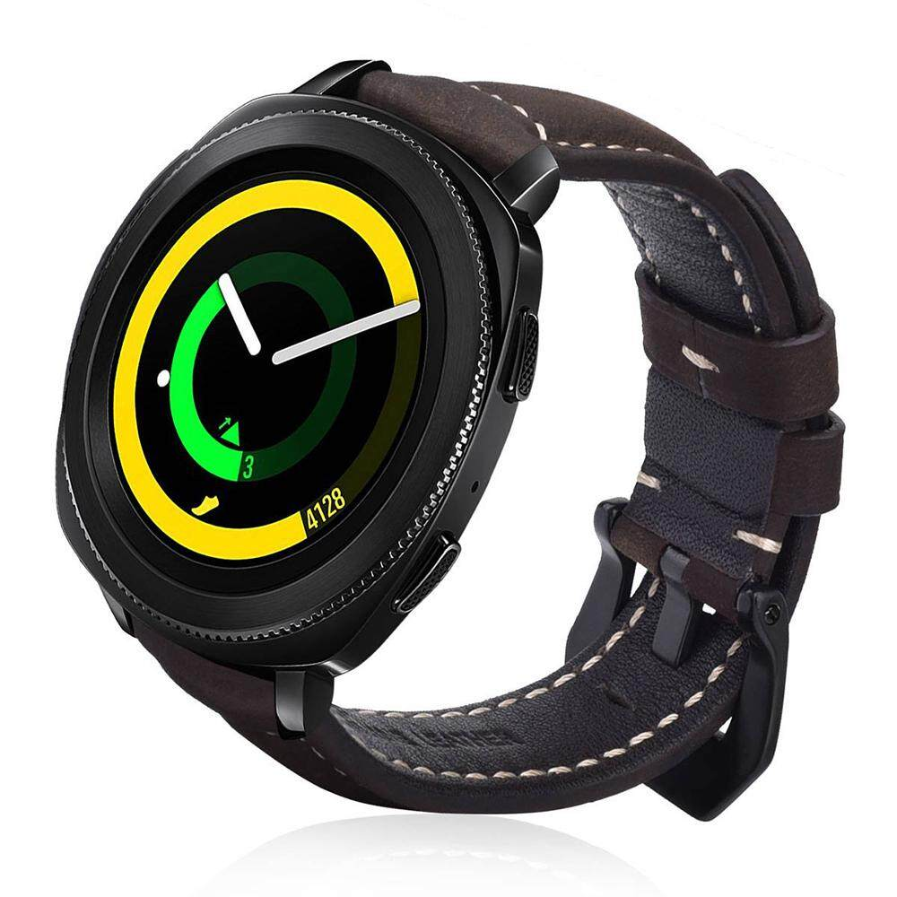 Fitur Spare Pu Leather Watch Band Strap For Samsung Galaxy Gear