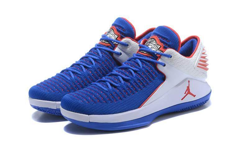Nike Resmi Stiker Michael Jordan 32 Pria Basketaball Sepatu MJ Sneakers AJ Low Top