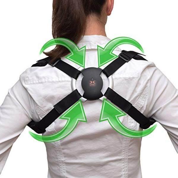 Pembenar Postur-Smart Back Brace-Memperbaiki Hunch Down & Membungkuk dengan Menggunakan Dipatenkan Teknologi Sensor-Bergetar Ketika Postur Tubuh Yang Buruk terdeteksi-Gratis Aplikasi Bekerja Pada iPhone & Android./Dari Amerika Serikat