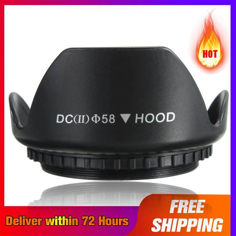 【Free Pengiriman + Super Deal + Terbatas Offer】58mm Upgrade Tutup Lensa untuk Canon