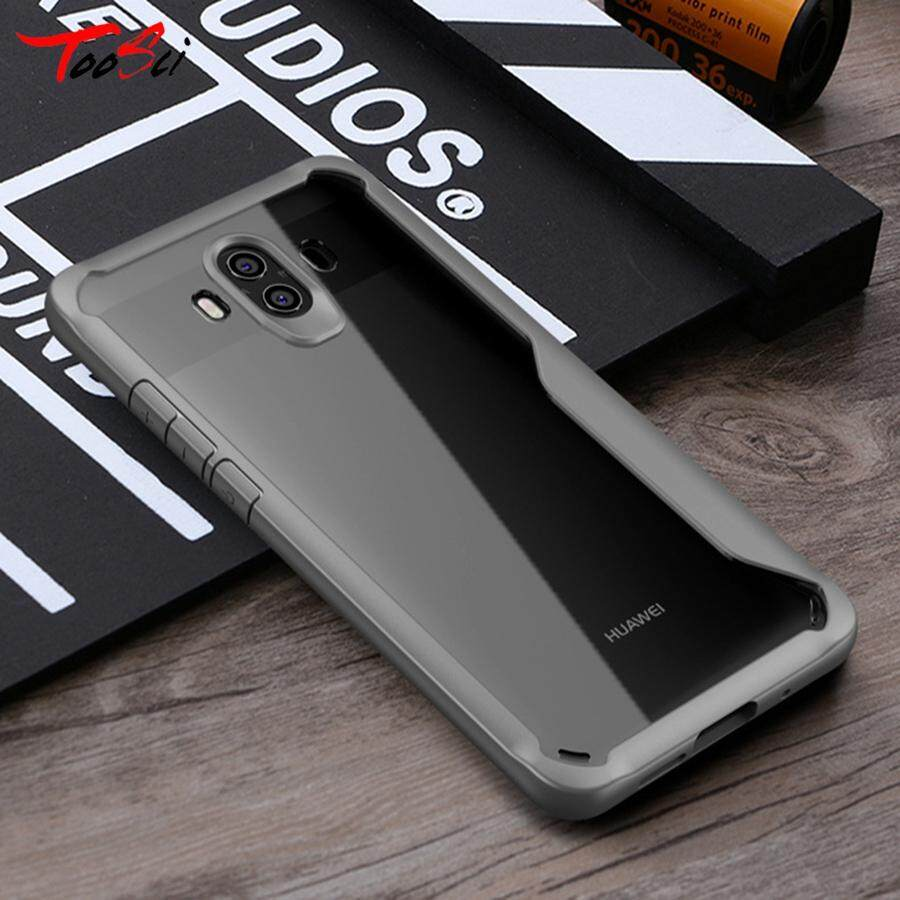 Tough Style Case Air Cushion Bumper Clear Hard PC Silicone TPU Gel Slim Fit Cover Phone