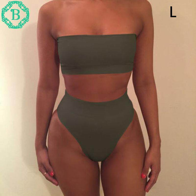 Hình ảnh Benediction Outdoor Pure Color Fashion 4 Colors Swimwear Triangle Swimwear