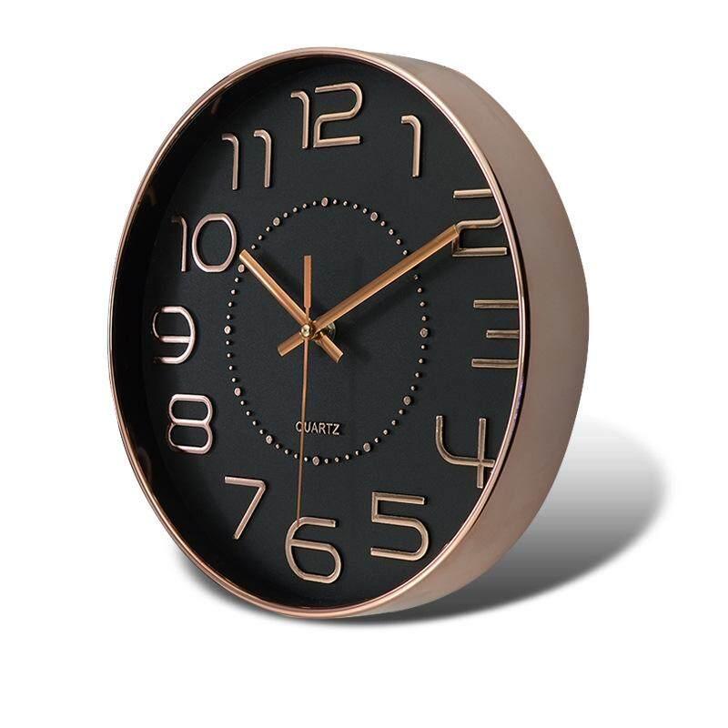 Living Room Wall Clock Creative Decoration 10 Inch Clock Silent Clock Clock Watch Fashion Nordic Wind