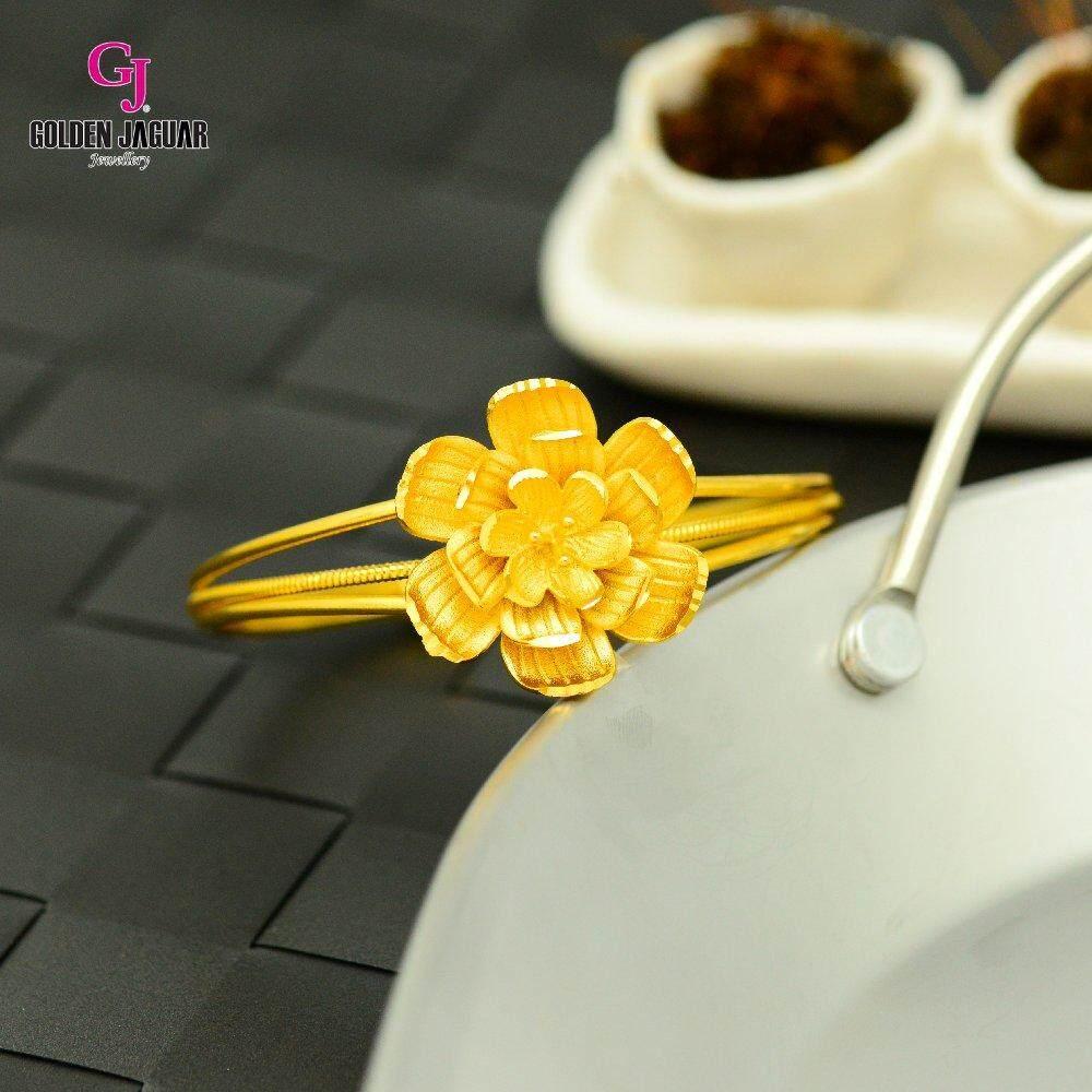 Emas Korea Golden Jaguar Bangle (GJJ-59675)
