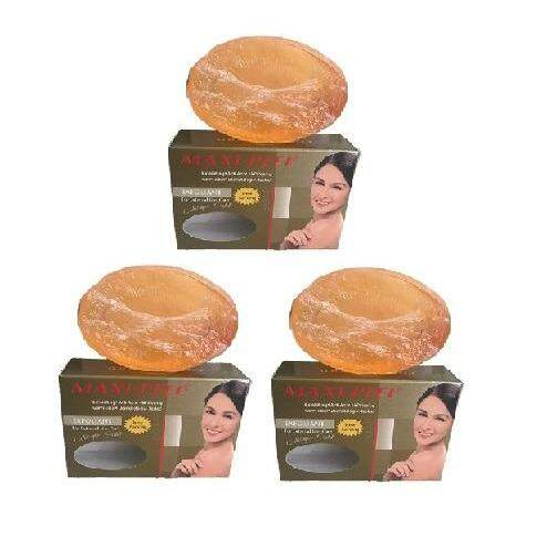 3 x Maxi-Peel Exfoliant Collagen Gold Soap 100g