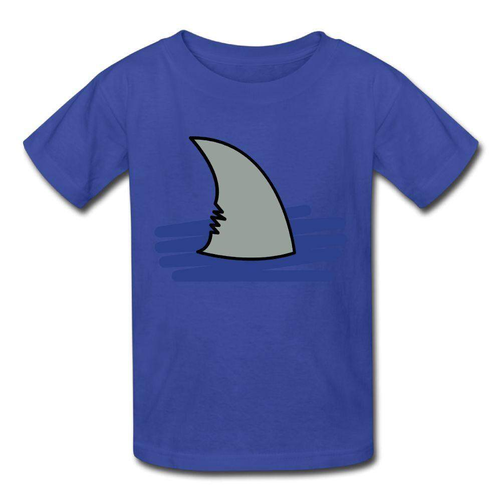 YONTH Kids Shark Fin Vector T-shirt Fashion New Sport Teens Top - intl