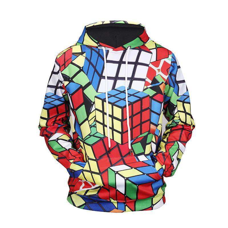 Spring And Autumn New Men Sweater 3d Printing Fashion Hooded Sweater By Guo Guo Well Shopping Store.