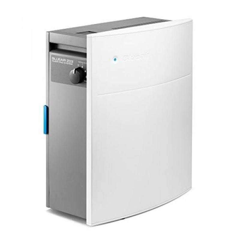 Blueair Classic lim HEPASilent Air Purification System, Captures Allergens, Odors, Smoke, Mold, Dust, Germs, Pets, Smokers, Rooms 237 sq. ft, White Singapore
