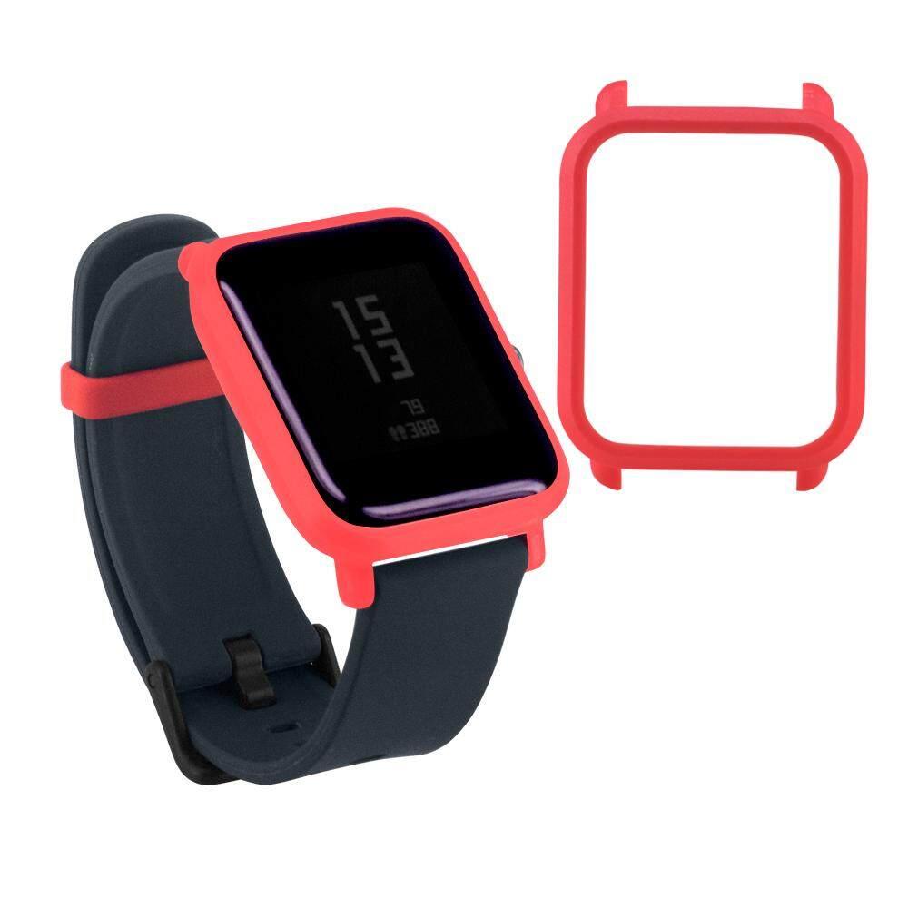 Pola Baru Sarung Pelindung PC Melindungi Shell untuk Xiaomi Huami Amazfit Bip Jam Anak Muda Dyerstore