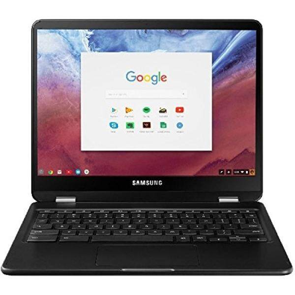 Samsung - Pro 2-in-1 12.3 Touch-Screen Chromebook - Intel Core m3 - 4GB Memory - 32GB eMMC Flash Memory - Metallic Black